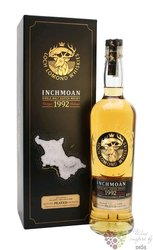 "Loch Lomond Island collection "" Inchmoan 1992 "" aged 25 years Scotch whisky 46%vol.  0.70 l"