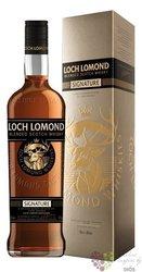 "Loch Lomond "" Signature "" blended Scotch whisky 40% vol.  0.70 l"