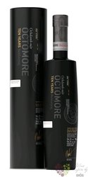 """Octomore 2009 """" Ten batch 4 """" aged 10 years Islay whisky by Bruichladdich 54.3% vol.  0.70 l"""