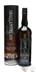 "Old Ballantruan "" the Peated malt "" aged 10 years Glenlivet whisky by Tomintoul50% vol.  0.70 l"
