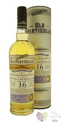 "Royal Lochnagar 1997 "" Douglas Laing & Co Old Particular "" aged 16 years whisky48.4% vol. 0.70 l"