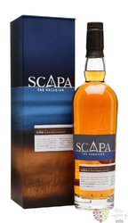 "Scapa "" Orcadian Glansa "" single malt Orkney whisky 40% vol.  0.70 l"