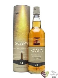 Scapa 14 years old single malt Orkney Island whisky 40% vol.  0.70 l