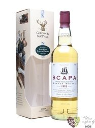 "Scapa 1993 "" Gordon & MacPhail Rare vintage "" single malt Orkney whisky 40% vol.   0.70 l"