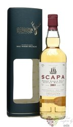 "Scapa 2001 "" Gordon & MacPhail Distillery labels "" single malt Orkney whisky 43% vol.   0.70 l"