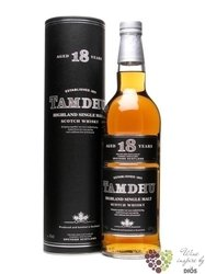 Tamdhu 18 years old single malt Speyside whisky 40% vol.     0.70 l