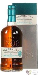 "Tobermory "" Manzanila cask "" aged 12 years single malt Mull whisky 46.3% vol.  0.70 l"