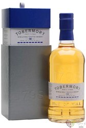 Tobermory 18 years old single malt Mull whisky 46.3% vol.  0.70 l