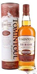 """Tomintoul """" Seiridh """" Speyside Glenlivet whisky 40% vol.  0.70 l"""