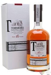Tormore 16 years old Speyside single malt whisky 48% vol.  0.70 l