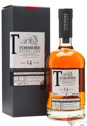 Tormore 14 years old Speyside single malt whisky 43% vol.  0.70 l