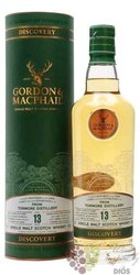 """Tormore """" Gordon & MacPhail Discovery """" aged 13 years Speyside whisky 43% vol.  0.70 l"""
