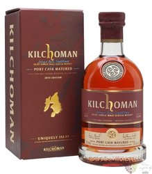 "Kilchoman 2018 "" Port cask "" single malt Islay whisky 50% vol.  0.70 l"