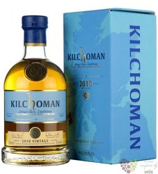 "Kilchoman 2010 "" Vintage "" single malt Islay whisky 50% vol.  0.70 l"
