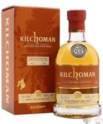 "Kilchoman "" UK Small Batch no.2 "" single malt Islay whisky 47.1% vol.  0.70 l"