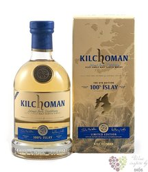 "Kilchoman "" 100% Islay "" 6th edition single malt whisky 50% vol.  0.70 l"