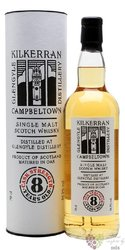 "Kilkerran "" Cask Strength "" aged 8 years Campbeltown whisky by Glengyle 56.5% vol.  0.70 l"