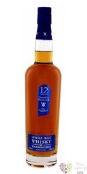 "Wambrechies "" Sherry cask "" aged 12 years single malt French whisky 43% vol.0.70 l"