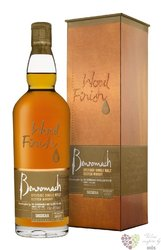 "Benromach Wood finish "" Sassicaia cask "" 2007 single malt Speyside whisky 45% vol.  0.70 l"