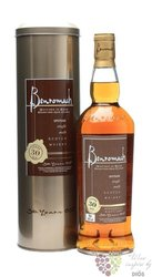 Benromach 30 years old single malt Speyside whisky 43% vol.    0.70 l