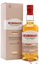 """Benromach Contrasts """" Organic """" 2012 Speyside whisky 43% vol.  0.70 l"""