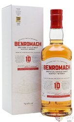 Benromach 10 years old 2020 release Speyside whisky 43% vol.  0.70 l