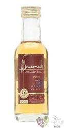 Benromach 10 years old single malt Speyside whisky 40% vol.  0.05 l