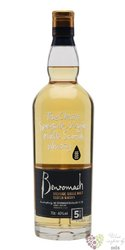 Benromach 5 years old single malt Speyside whisky 40% vol.  0.70 l