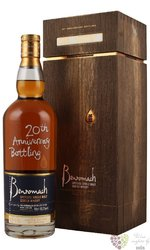"Benromach "" 20 annniversry edition "" 1998 single malt Speyside whisky 56.2% vol.  0.70 l"