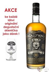 Scallywag glass set blended malt Speyside whisky 46% vol.  0.70 l