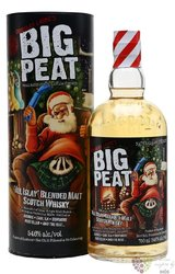"Big Peat "" Christmas edit. 2016 "" Islay blended malt whisky 54.6% vol.  0.70 l"