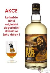 Big Peat glass set Islay blended malt whisky Douglas Laing & Co 46% vol.  0.70 l