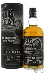 "Big Peat 1992 "" the Black ed. "" aged 27 years Islay blended malt whisky 48.3% vol.  0.70 l"