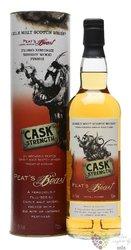 Peats Beast Cask strength edition PX single malt Islay whisky 54.1% vol.  0.70l