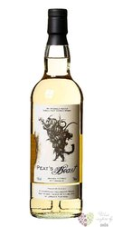 Peats Beast single malt Scotch whisky by Fox Fitzgerald 46% vol.  0.05 l