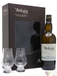 Port Askaig aged 8 years gift set Islay whisky by Elixir Distillers 45.8% vol.0.70 l