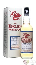 "st.George´s "" Chapter 9 "" peated single malt whisky English whisky co. 56% vol.0.70 l"