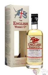 "st.George´s "" Chapter 6 "" unpeated single malt whisky by English Whisky co. 46%vol.  0.70 l"