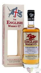 "st.George´s "" Chapter 10 "" peated single malt whisky English whisky co. 46% vol. 0.70l"