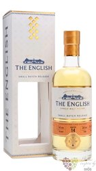 "st.George´s "" Chapter 14 "" peated single malt whisky English whisky co. 46% vol. 0.70 l"