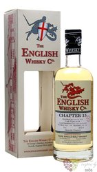 "st.George´s "" Chapter 15 "" peated single malt whisky English whisky co. 46% vol. 0.70 l"