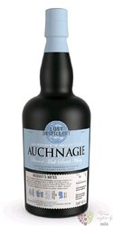"Auchnagie Archivists Notes "" the Lost distillery "" blended malt Scotch whisky 46% vol.  0.70 l"