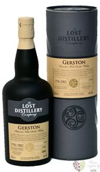 "Gerston no.3 "" the Lost distillery "" blended malt Scotch whisky 43% vol.  0.70 l"