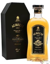 "Aureum 1865 "" Grave Digger "" single malt German whisky by Ziegler 43% vol.  0.70 l"