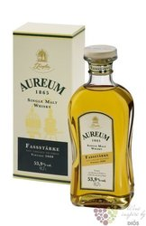 Aureum 1865 stregth edition single malt German whisky by Ziegler 53.9% vol.  0.70 l