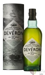 the Deveron 10 years old single malt Highland whisky 40% vol.  0.70 l