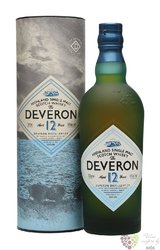 the Deveron 12 years old single malt Highland whisky 40% vol.  0.70 l
