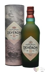the Deveron 18 years old single malt Highland whisky 40% vol.   0.70 l