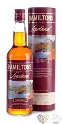 "Hamiltons "" Lowland "" single malt Speyside whisky 40% vol. 0.70 l"