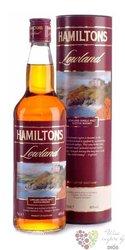 "Hamiltons "" Lowland "" single malt Speyside whisky 40% vol. 0.70 l"